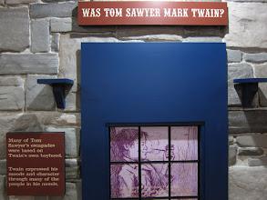 Photo: Mark Twain müzesi.  Hannibal