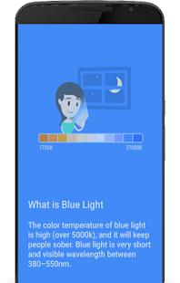 Blue Light Filter – Eye Care, Night Filter - náhled