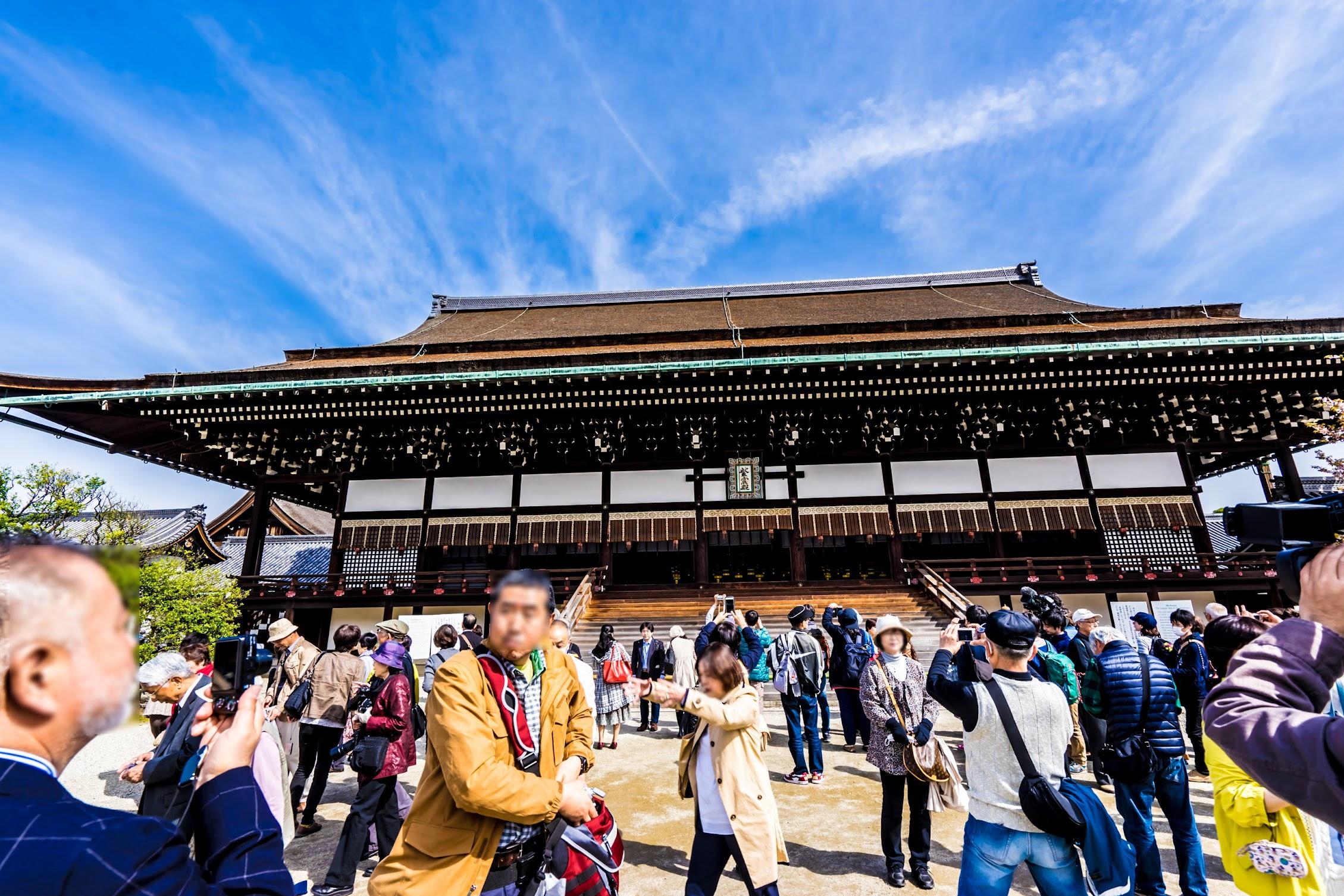 京都御所 紫宸殿2