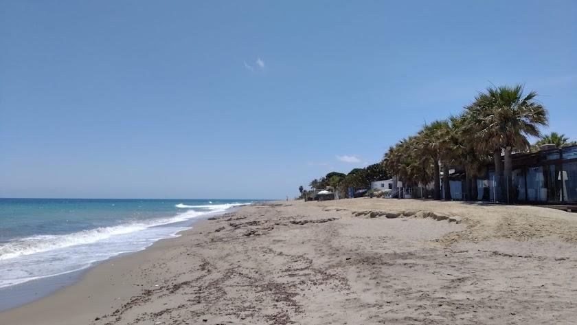 Playas de Mojácar, donde la celebración de la noche de San Juan es muy popular.
