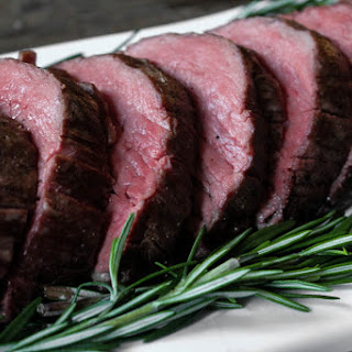 Slow-Roasted Beef Tenderloin with Rosemary