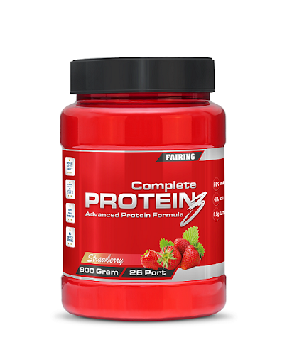 Complete Protein3 800g - Strawberry