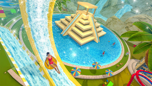 Water Parks Extreme Slide Ride : Amusement Park 3D 1.32 screenshots 5