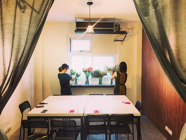 sun風格花物-乾燥花diy體驗