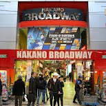 Nakano Broadway, the mecca for classic manga and anime fans in Tokyo, Tokyo, Japan