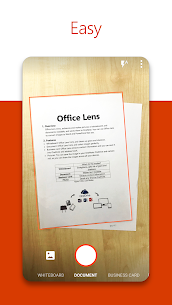 Microsoft Office Lens – PDF Scanner App Latest Version Download For Android and iPhone 1