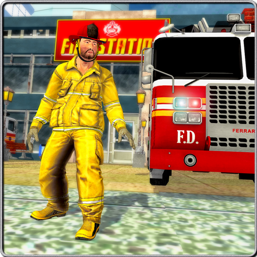 Fire Truck Rescue: City Firefighter Hero 3D