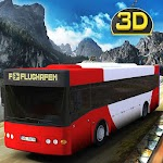 Off Road Hill Climb Resort Bus Icon