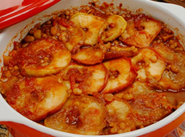 Baked Beans With Apples Recipe