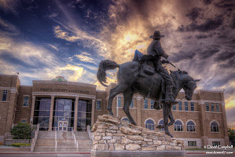 Photo: Old West Justice Statue of Pat Garrett (the sheriff who shot Billy The Kid) in Roswell, NM