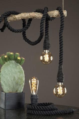 Lampa Rep Svart