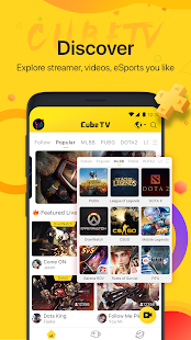 Cube TV - Live Stream Games Community Capture d'écran