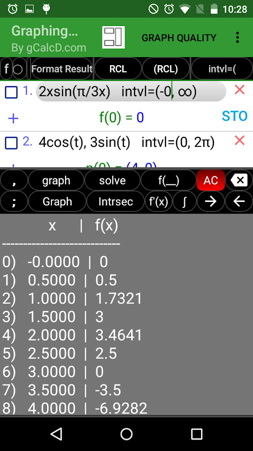 Graphing Calculator Free- screenshot
