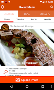 RoundMenu Restaurant Discovery - screenshot thumbnail