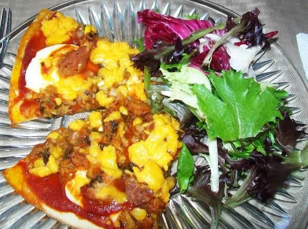 Irisa's Wild Mexican Pizza Pie :-)