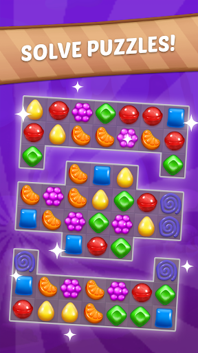 Candy Sweet Story: Candy Match 3 Puzzle 72 screenshots 2