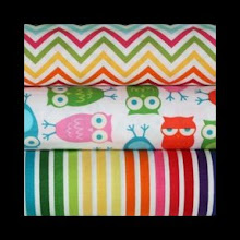 Photo: Zoology Trio *Rainbow Nest* Special Note *each of these fabrics are available separately but shown together to inspire creative thinking! *would coordinate with espresso, black, khaki, or purple straps
