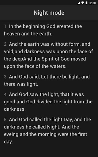King James Bible (KJV) screenshot 13