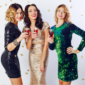 Sequin dresses (Models)