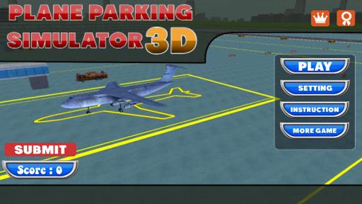 Plane Parking Simulator 3D