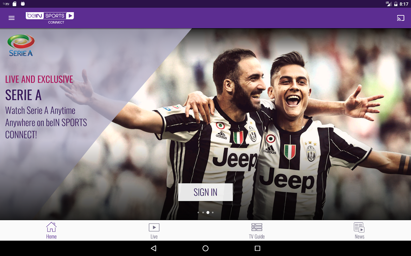beIN SPORTS CONNECT - Android Apps on Google Play