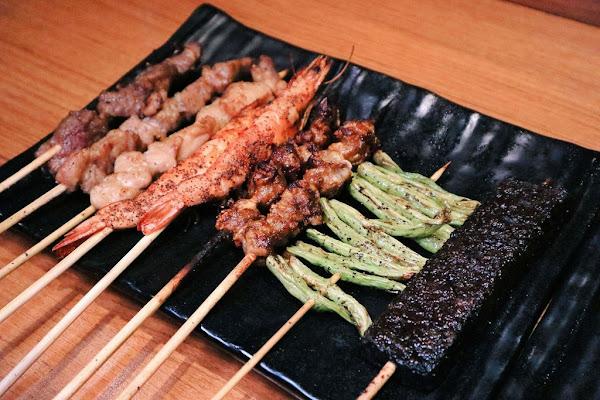 柒串燒屋,台北平價串燒15元起 /台北聚餐平價美食不限時