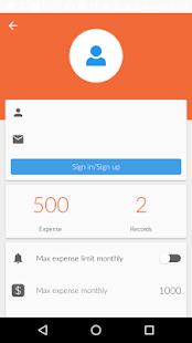 My Munshi - Expense Manager - náhled
