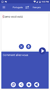 Portuguese French Translator - náhled
