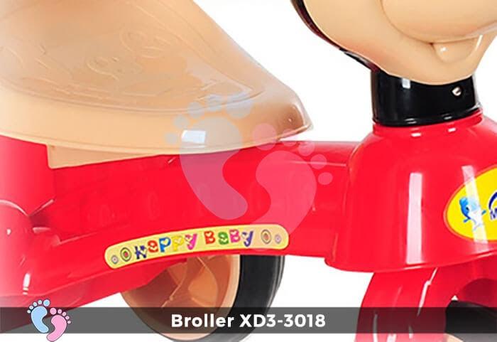 Xe đạp ba bánh Broller XD3-3018 9