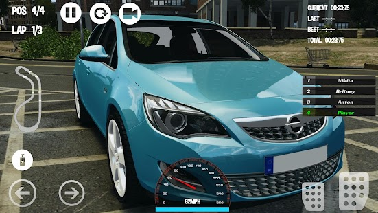 Car Racing Opel Game - náhled