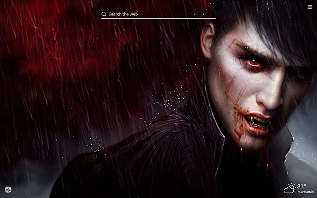 Vampires HD Wallpapers New Tab Theme