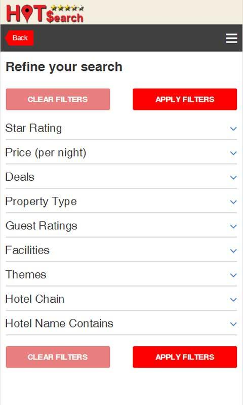 Hot Search for Hotel Discounts- screenshot