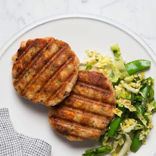 Five Spice Salmon Burgers