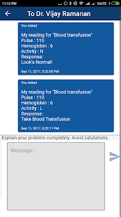 Appment Patient app- screenshot thumbnail