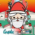 Toca Life Santa's Workshop House Design Tips&Guide icon