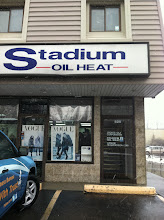 Photo: Stadium Oil Heat, Inc. in Peabody, MA proudly displaying their BBB Accreditation