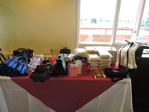 Photo: Tanoan Country Club luncheon- rally gifts