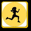 Aerobic exercise icon