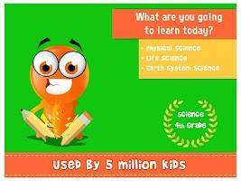 Screenshot of iTooch 4th Grade Science