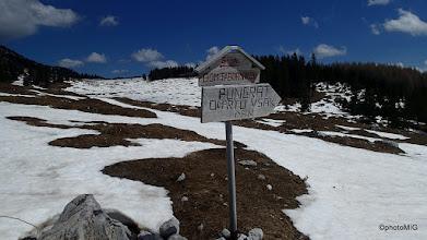 Photo: Tabla za odprti Pungrat ali nismo ga našli usput