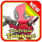 How to Draw Deadpool icon