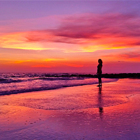 { The Pilot's Wife }  by Jeffrey Lee - Landscapes Sunsets & Sunrises ( { the pilot's wife },  )