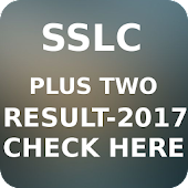 SSLC - Plus Two  Result - 2017