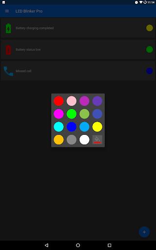 LED Blinker Notifications Pro - Manage your lights  screenshots 12