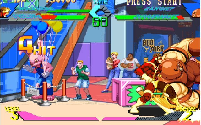 X-Men vs Street Fighter Game