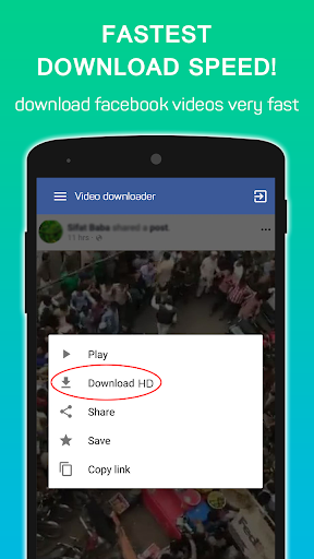 Video Downloader for Facebook 1.0.2 screenshots 2