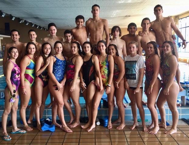 El CD. Natación Ciudad de Algeciras moverá este fin de semana cerca de 80 nadadores entre Cádiz y Tarifa