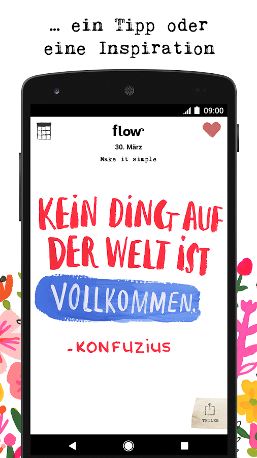 flow Kalender 2017- screenshot