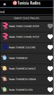 Tunisian Radios player - náhled