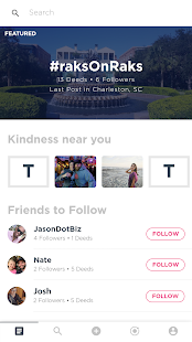 Nobly - The Acts of Kindness App- screenshot thumbnail